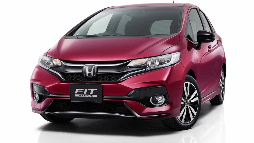 Honda Fit 2018 é revelado com retoques no visual