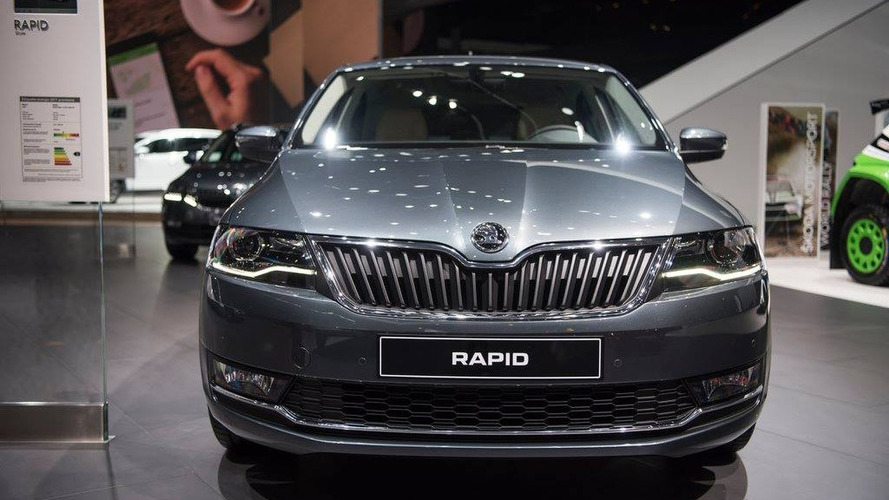 2017 Skoda Rapid, Rapid Spaceback facelift