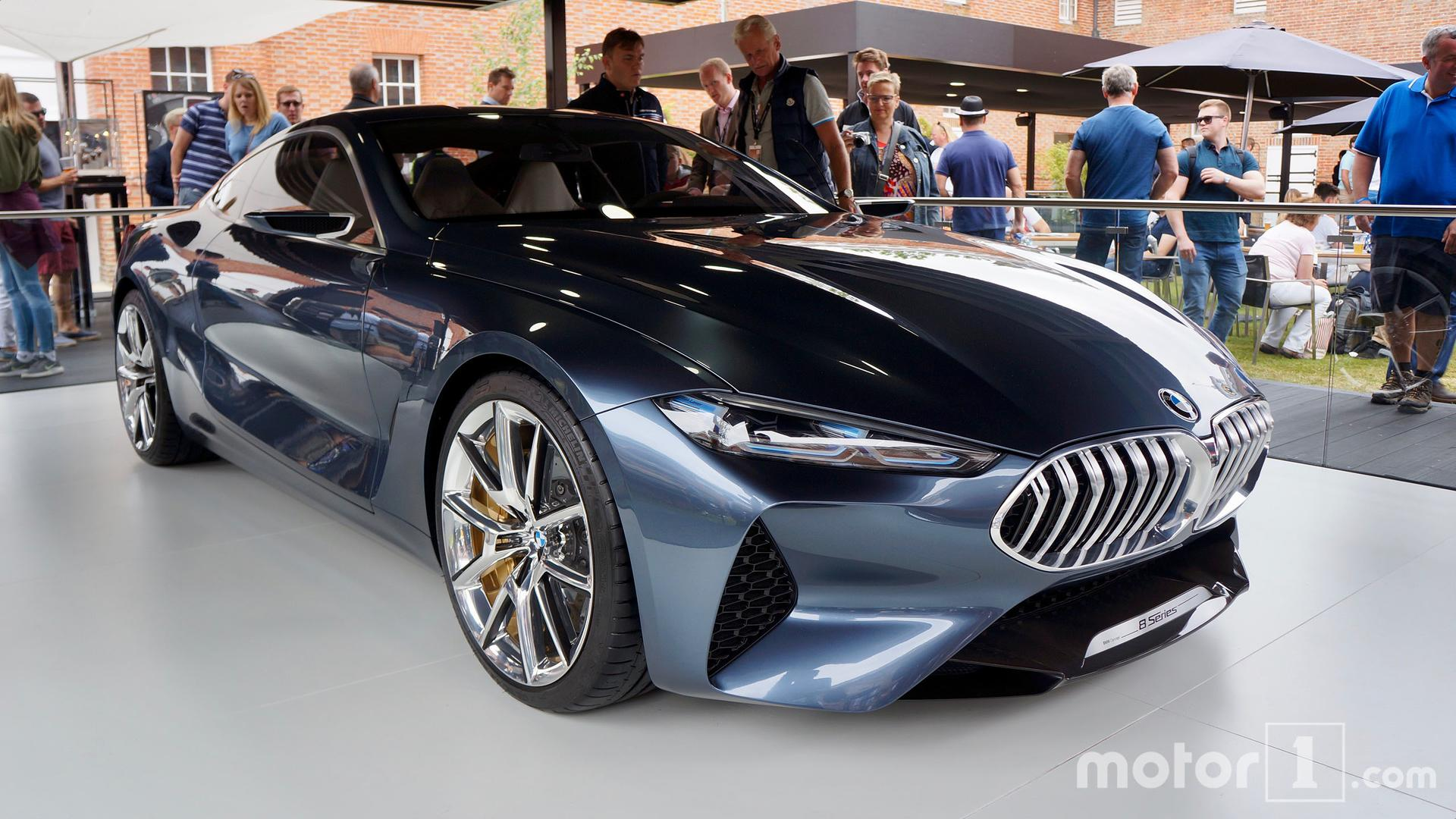 BMW Series Concept Looks Stunning At Goodwood - 8 series bmw