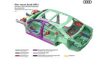 2018 Audi A8 gövde