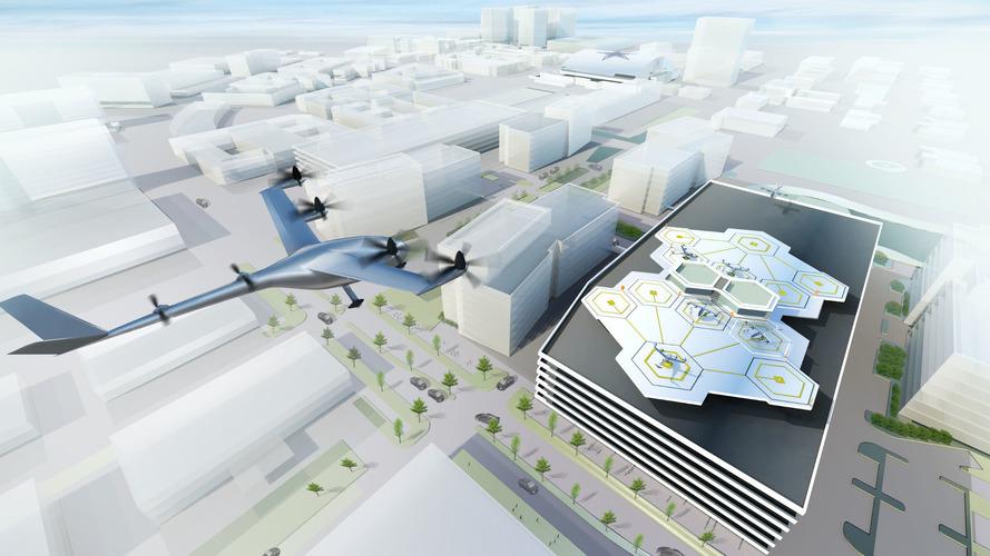 Uber'ın uçan taksileri 2020 yılında gelecek
