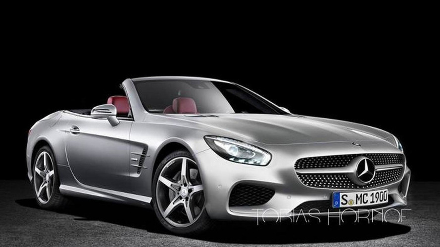 WCF reader envisions 2016 Mercedes-Benz SL facelift