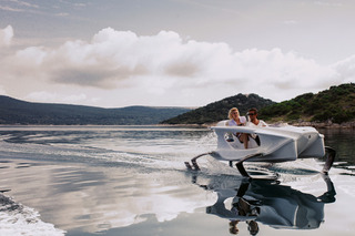 Slice Above the Waves in the World's Weirdest Aquatic Machine