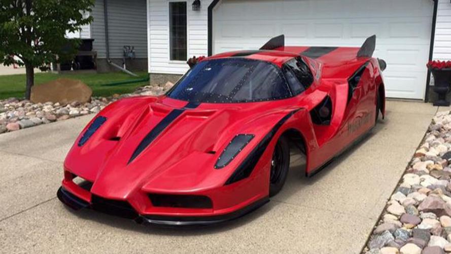 Ferrari Enzo jet car