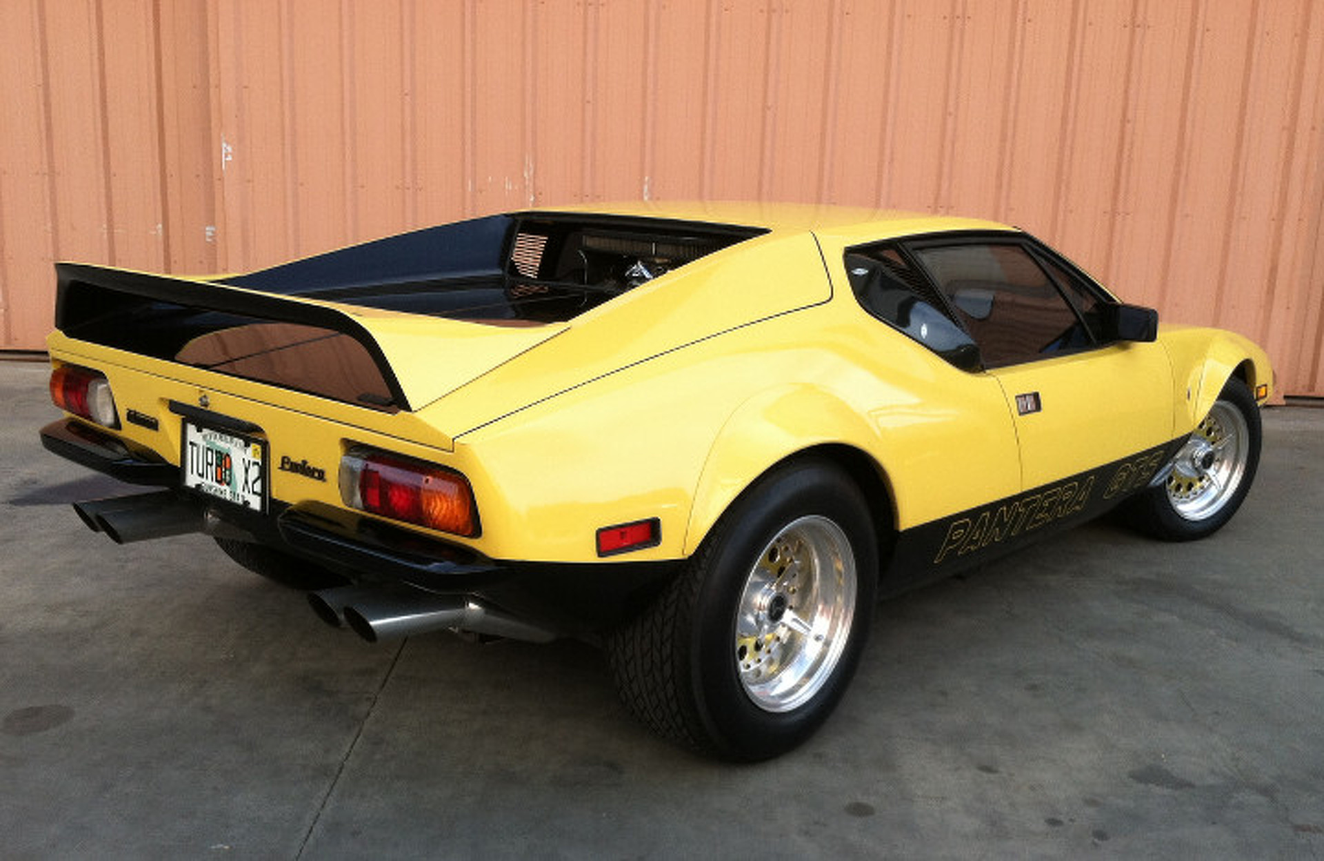 Your Ride 1974 DeTomaso Pantera GTS