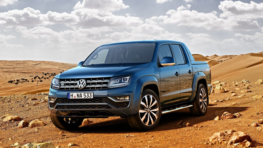 2016 VW Amarok facelift revealed with V6 turbodiesel engine