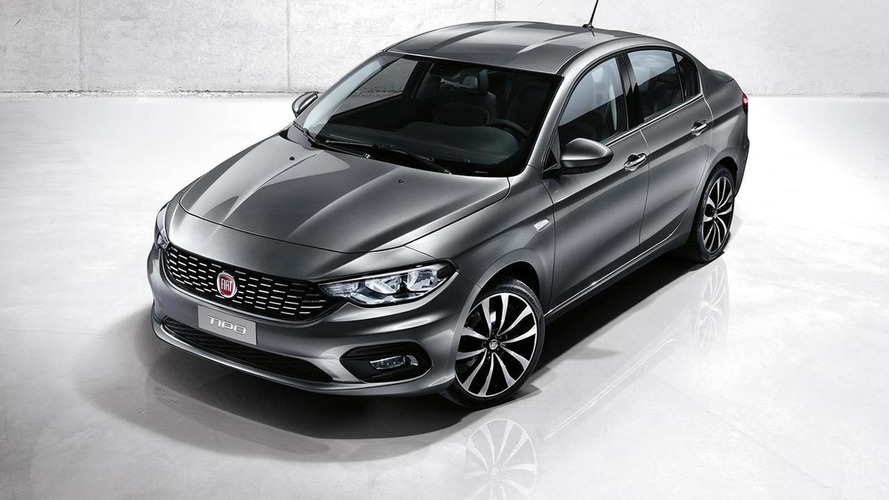 Fiat's compact sedan named Tipo in Europe