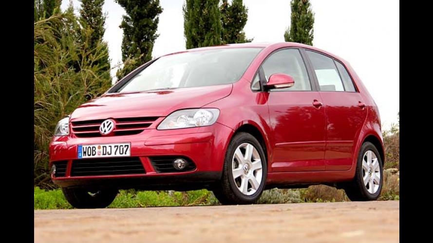 VW Golf Plus: Kurzkombi mit doppeltem Boden