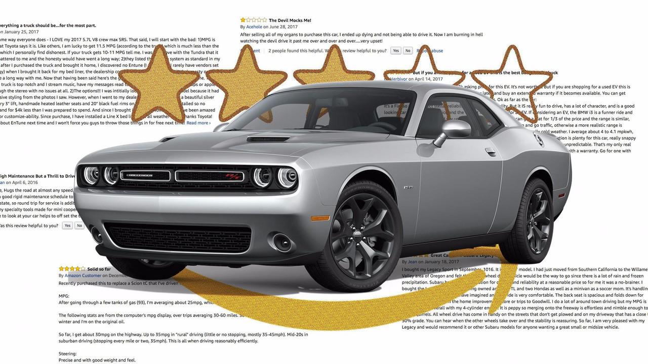 Amazon Car Reviews Lead