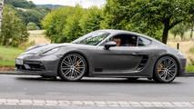 Porsche 718 Cayman GTS 2018, fotos espía
