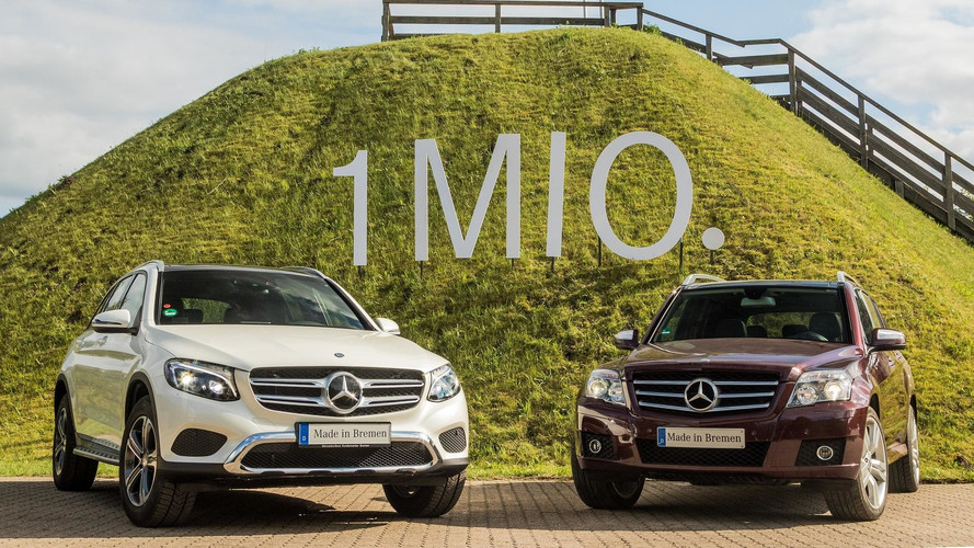 Mercedes-Benz GLC - Un million d'exemplaires vendus