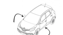 2013 Renault Captur design sketch