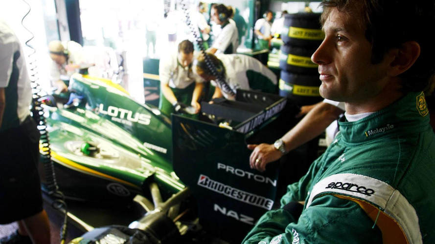 Trulli getting ready for 2011 season at Lotus