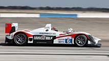 RS Spyder, Muscle Milk Team Cytosport: Greg Pickett, Klaus Graf, Sascha Maassen, American Le Mans Series, round 1 in Sebring, USA, qualifying, 19.03.2010