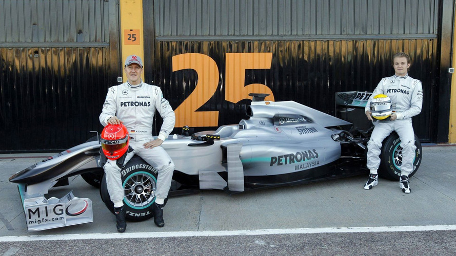 Barrichello's advice to Rosberg: 'Get out of there'