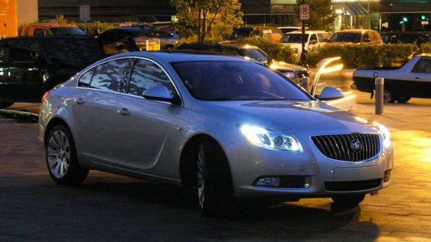 U.S. Spec Buick Regal Caught by Facebook User