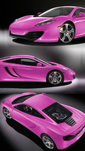 2010 McLaren MP4-12C - Pink Livery
