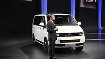 Volkswagen Multivan Edition 25 live in Geneva 28.02.2011