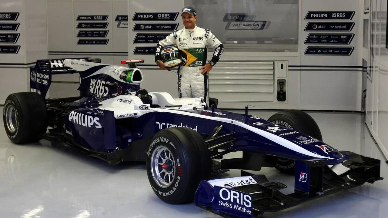 Rubens Barrichello (BRA), Williams F1 Team, celebrates his 300th GP - Formula 1 World Championship, Rd 13, Belgium Grand Prix, 27.08.2010 Spa, Belgium