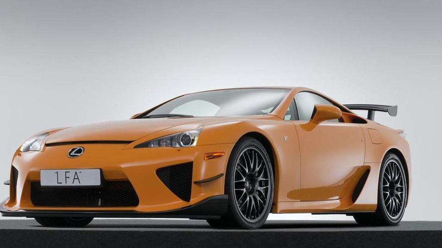Lexus LFA carbon fiber tech to live on in future models