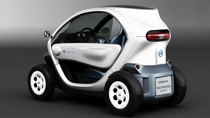 Nissan unveils the New Mobility Concept
