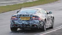 Aston Martin DBS facelift spied at Nürburgring