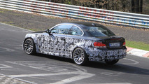 2012 BMW 135is spy photos on Nurburgring 20.04.2010