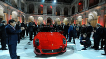 Ferrari 599 GTO presented at Modena's Military Academy