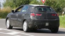 Alfa Romeo Milano rear LED tailamp design spy photo