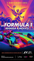 2015 Mexico Grand Prix poster / Official Facebook page
