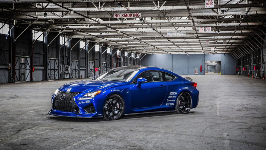 Lexus RC F gets tuned by Gordon Ting & VIP Auto Salon for SEMA