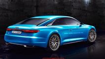 Audi A9 rendering / X-Tomi Design