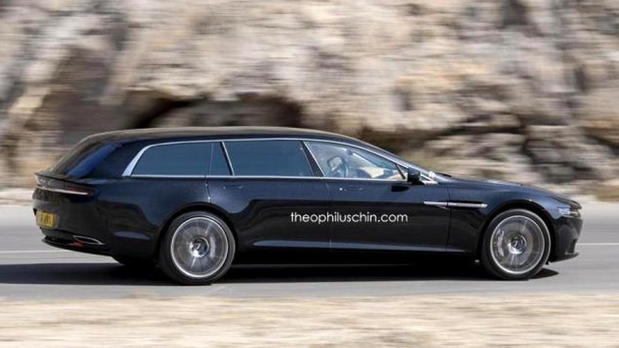 Aston Martin Lagonda Shooting Brake digitally imagined