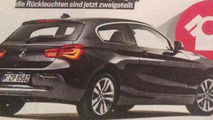 BMW 1-Series facelift