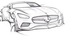 Mercedes-AMG GT sketch