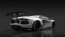 Lamborghini Aventador by Liberty Walk