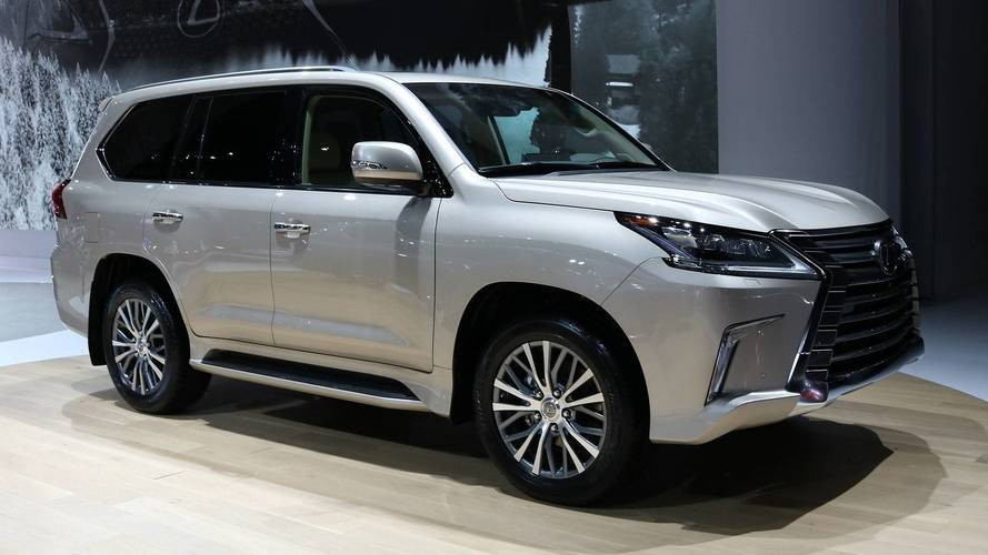 Two-Row Lexus LX 570 Carries Fewer Passengers To Fit More Stuff
