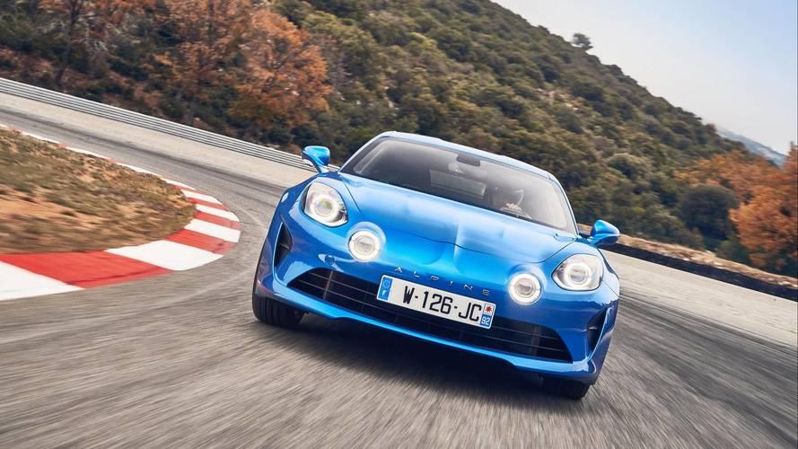 Daha hafif ve daha güçlü Alpine A110'un gelişimi başladı