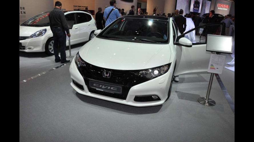Honda al Salone di Francoforte 2013