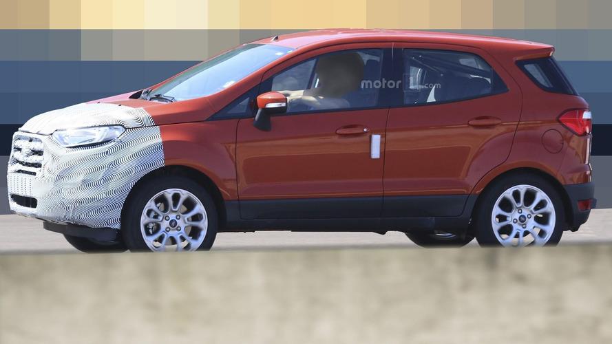 2018 Ford EcoSport spy photos