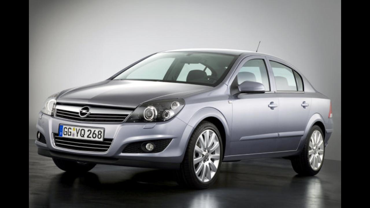Opel Astra Viertürer