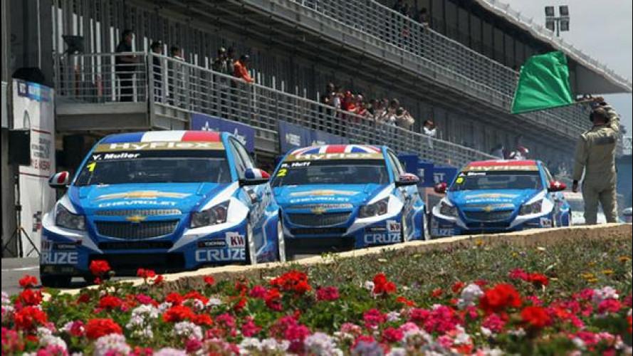 WTCC: Chevrolet schiacciasassi in Marocco
