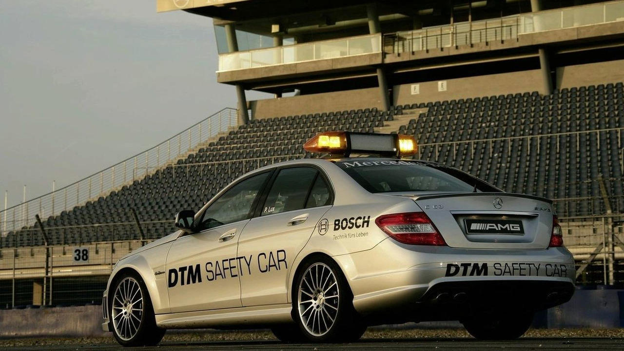 Mercedes C 63 AMG is Official DTM Safety Car