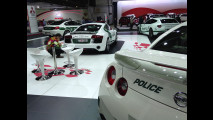 Il garage della Polizia di Dubai