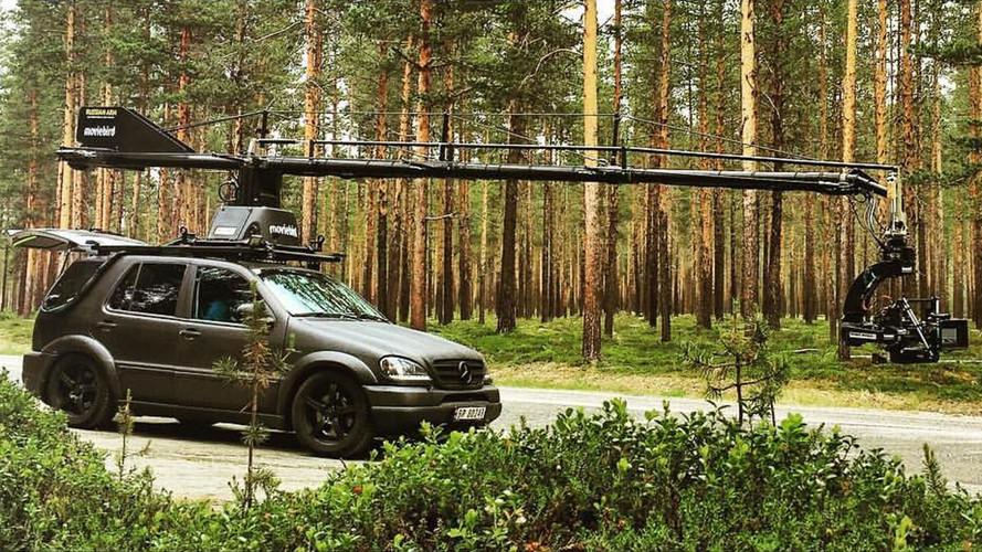 Mercedes ML55 AMG ralli aracı olursa