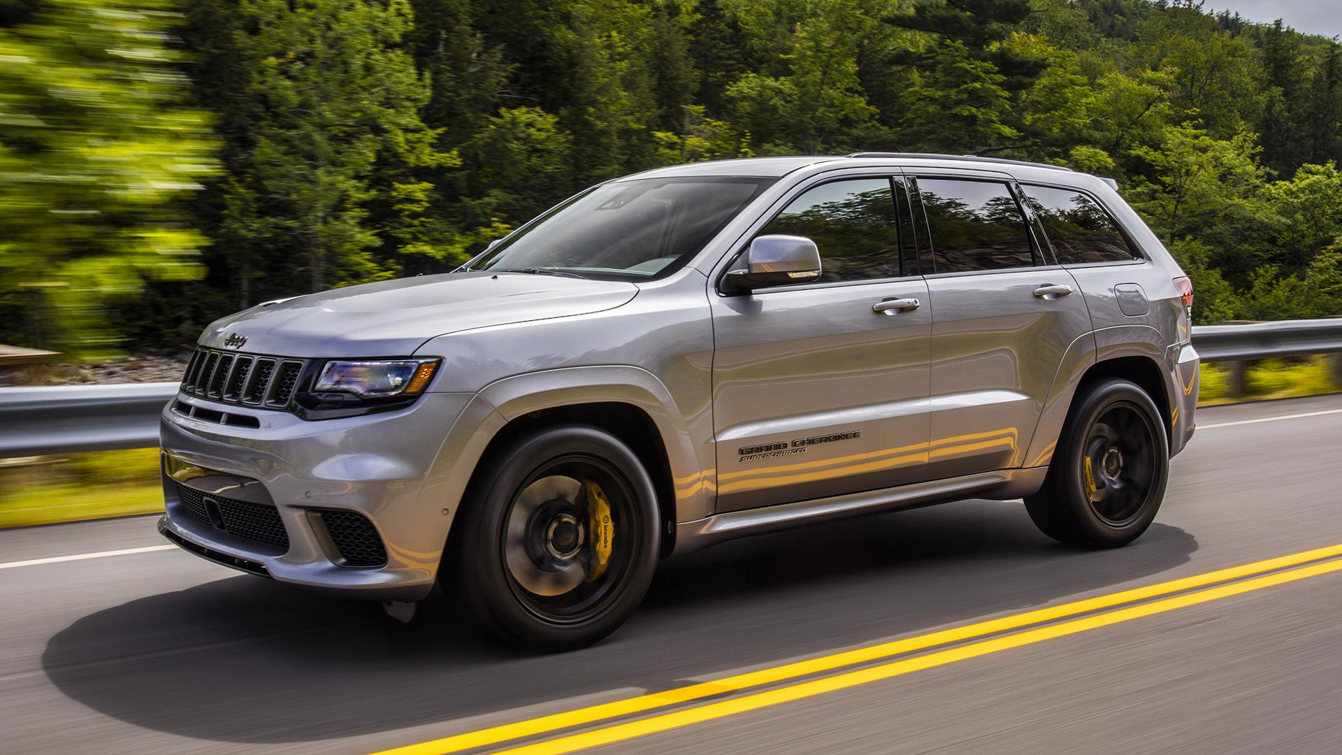 2018 Jeep Grand Cherokee Trackhawk First Drive Hellcat