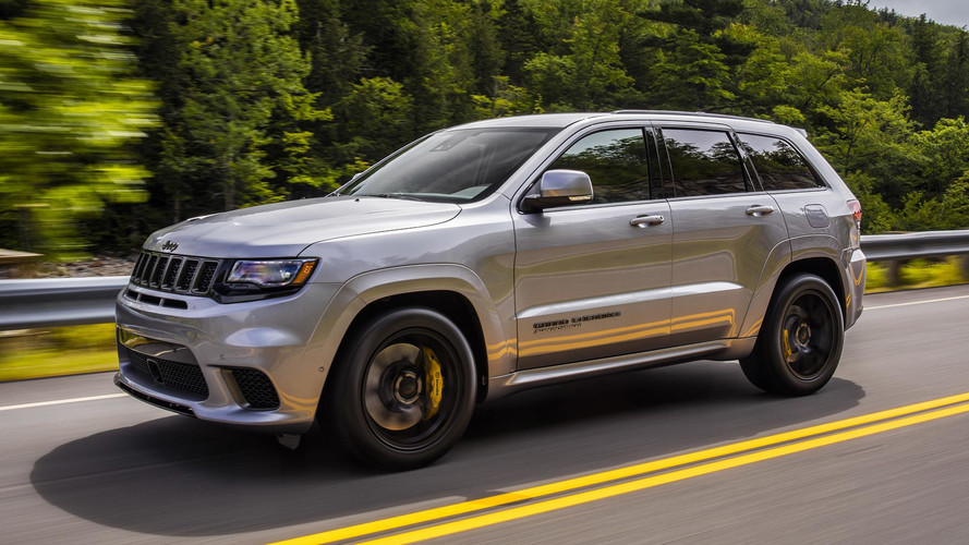 2018 Jeep Grand Cherokee Trackhawk First Drive: Hellcat All The Things