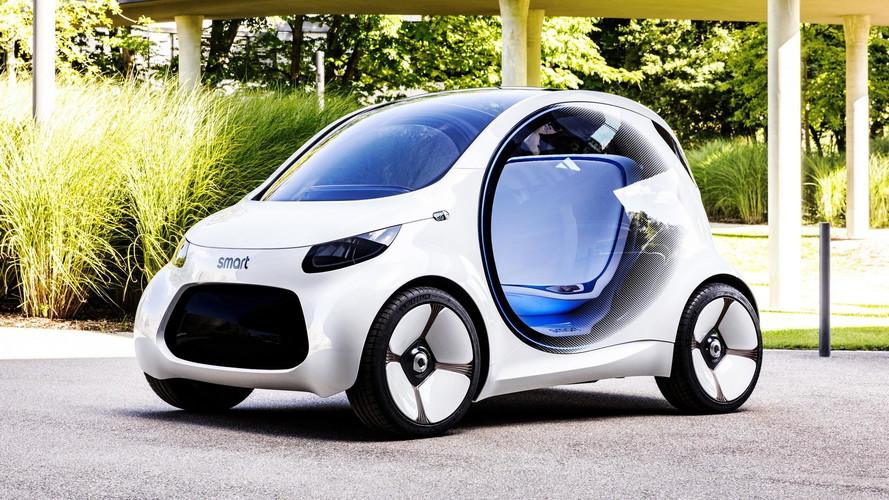 Araç paylaşımı yeni Vision EQ ForTwo konseptiyle