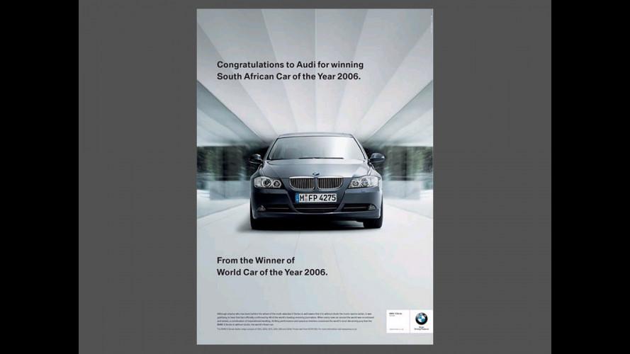 Un botta e risposta pubblicitario fra BMW, Audi, Subaru e... Bentley
