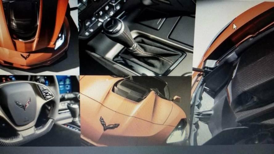 Chevrolet Corvette ZR1'in Dubai tanıtımı öncesi fotoğrafları sızdı
